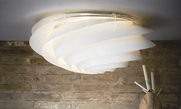 SWIRL nu også som lofts- og væglampe