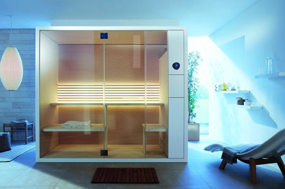 Stor saunanydelse i små badeværelser
