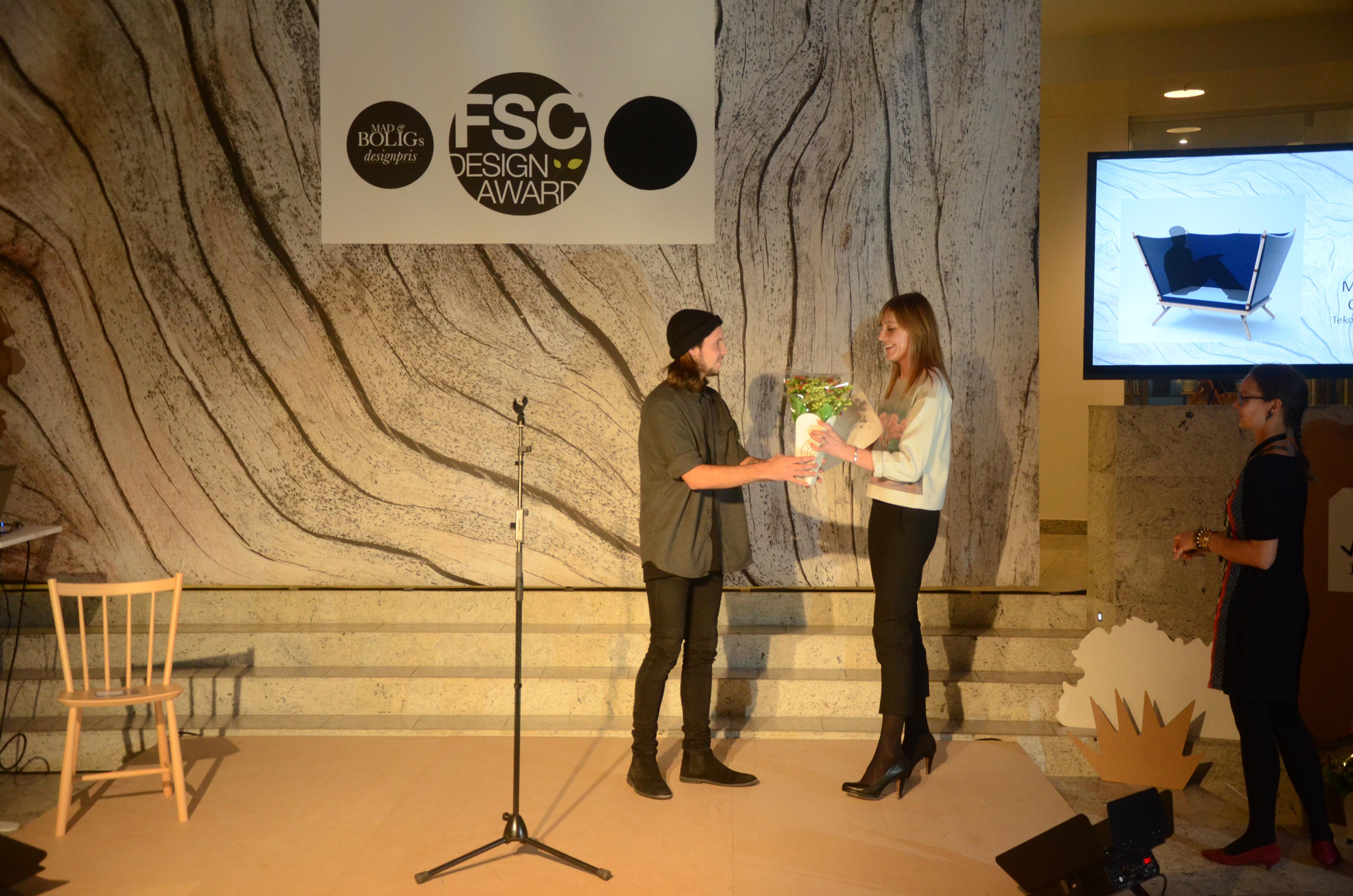 Ung designstuderende vinder bæredygtig designpris