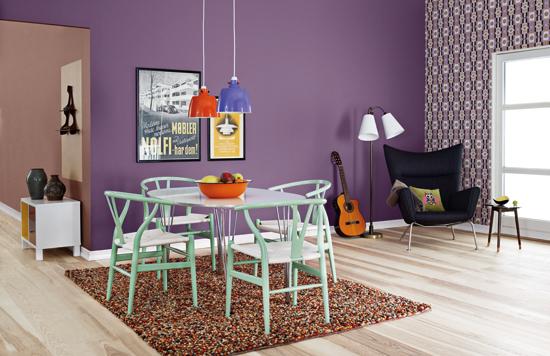 Lad farverne sætte præg på din bolig