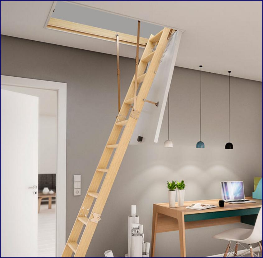 Udnyt dit loft med en innovativ lofttrappe