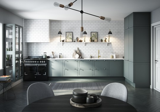 Svane Køkkenet i Aars: Få et nostalgisk og nordisk køkkenudtryk med RETRO
